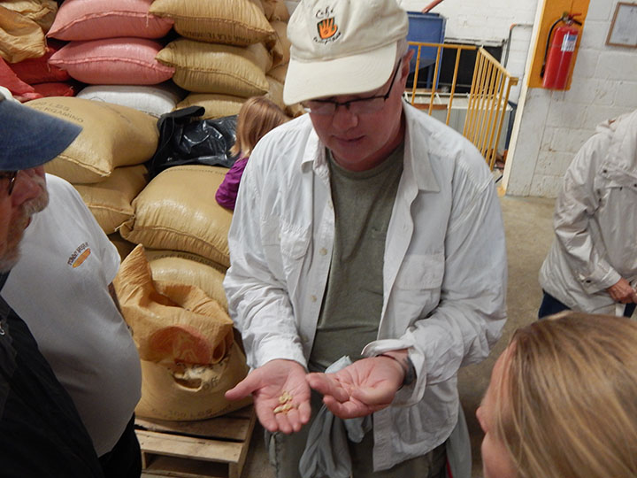 Cafe Campesino is a major wholesale coffee distributer in the US