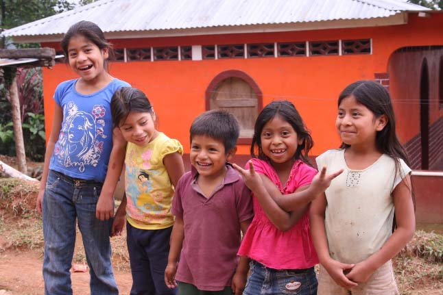 Children of the Apecaform Coffee Cooperative